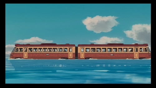 sirited away train