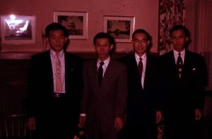 4 men in house