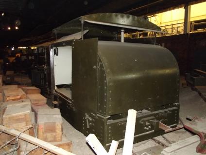 British MM15 War Department Light Railways Motor Rail 'Simplex' Petrol Tractor. IWM Duxford.