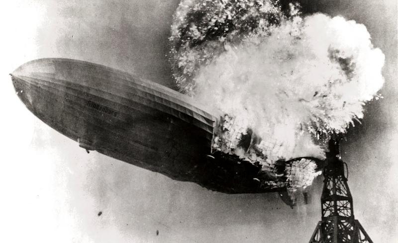 Hindenburg Hydrogen Explosion Disaster